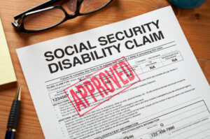social security disability form claim approved