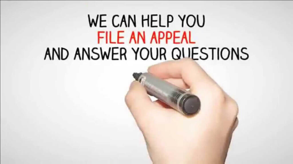 we can help you file an appeal and answer your questions